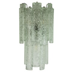 Vintage Italian Murano Glass Sconces by Mazzega