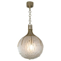 Vintage Italian Pendant Light by Angelo Brotto