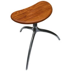 """Vintage Italian Rizzatto Design """"Tree"""" Tripod Side Table from Alias, 1990s"""