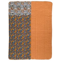 Vintage Italian Silk Quilt Blanket by Piet Hein Eek