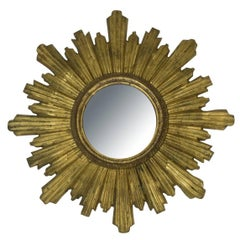 Vintage Italian Starburst Mirror