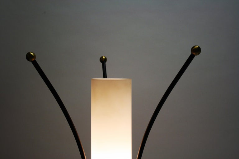 Vintage Italian Tripod Table Lamp, 1950s For Sale 5