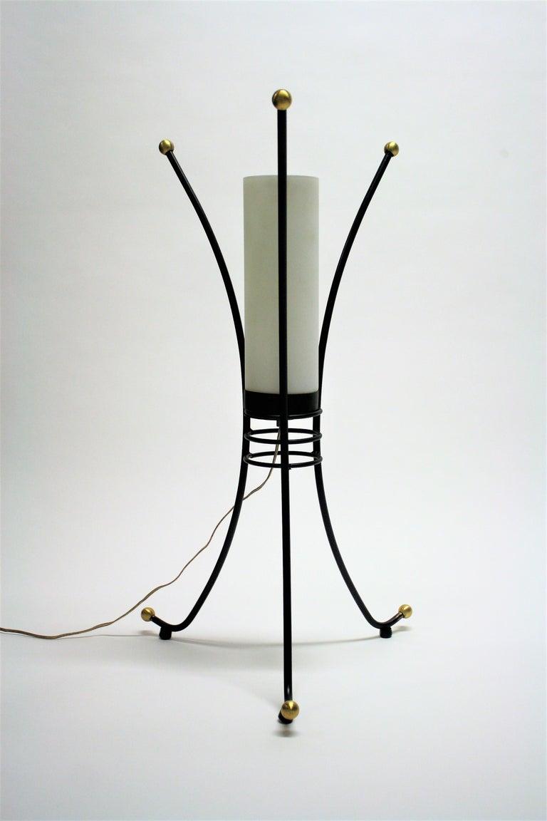 Vintage Italian Tripod Table Lamp, 1950s For Sale 1