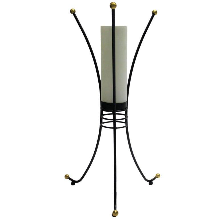 Vintage Italian Tripod Table Lamp, 1950s For Sale