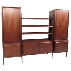 Vintage Italian Wall Storage Unit