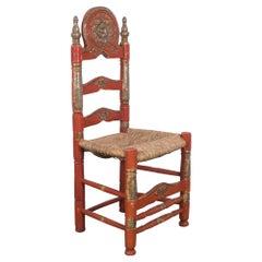 Vintage Italian Wooden Chair