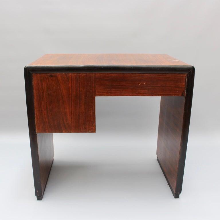 Vintage Italian Wooden Desk, circa 1970s For Sale 2