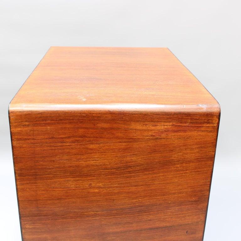 Vintage Italian Wooden Desk, circa 1970s For Sale 4