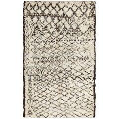 Vintage Ivory Moroccan Rug