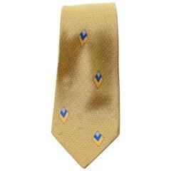 Vintage Jacques Lavas 100% silk beige tie