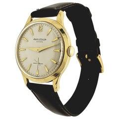 Vintage Jaeger LeCoultre Automatic 18 Karat Gold Watch