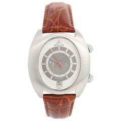 Vintage Jaeger-LeCoultre HPG Memovox Alarm Automatic Steel Men's Watch