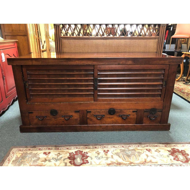 Vintage Japanese Futon Chest In Good Condition For San Francisco Ca