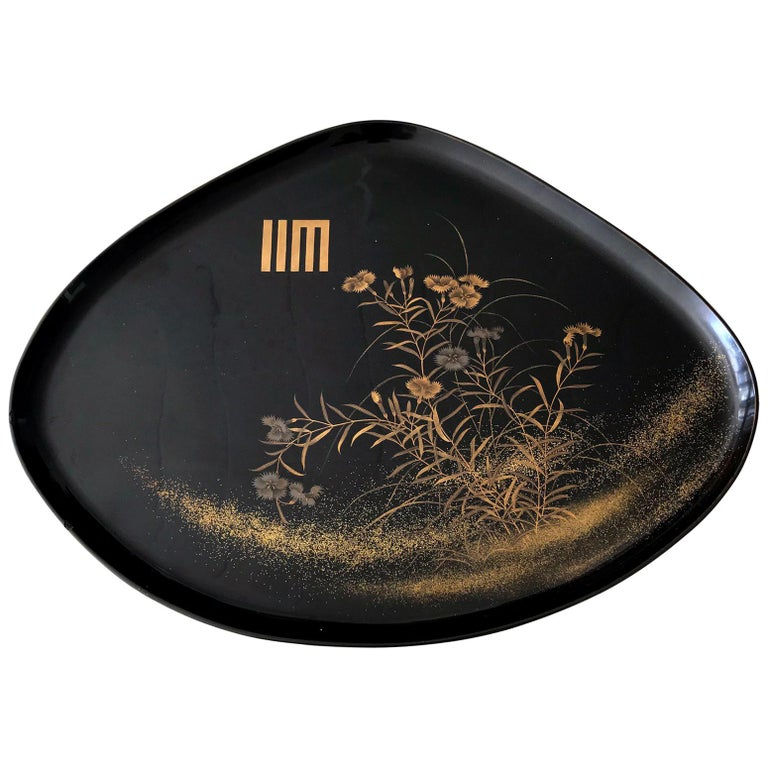 An Vintage Japanese Lacquer Tray For Sale