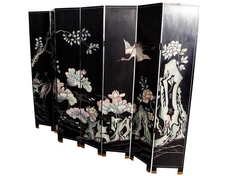 Vintage Japanese Screen Room Divider For Sale 5
