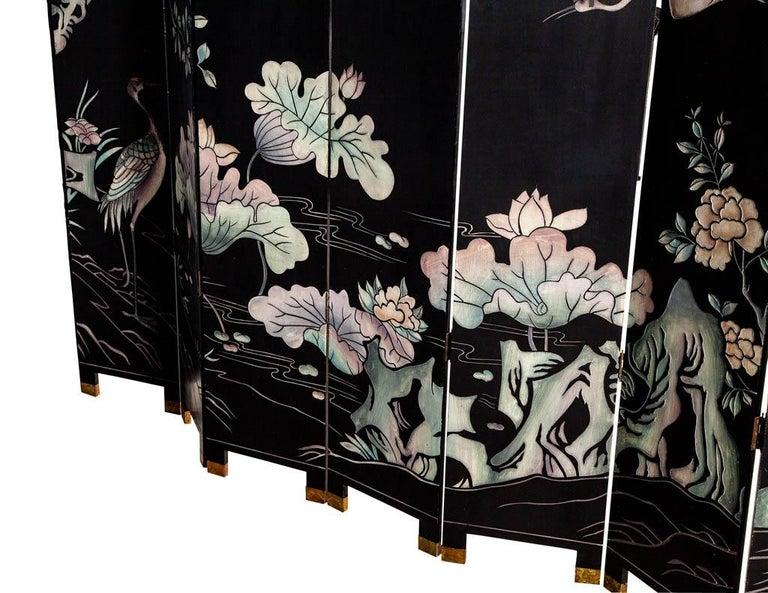 Vintage Japanese Screen Room Divider For Sale 6