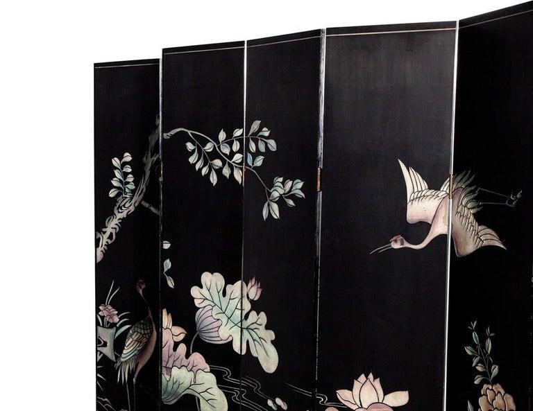 Vintage Japanese Screen Room Divider For Sale 7