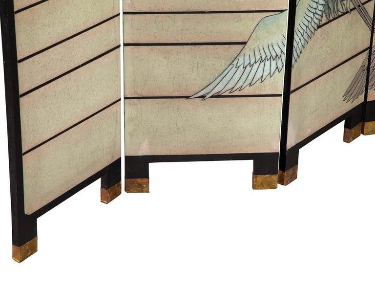 Vintage Japanese Screen Room Divider For Sale 9