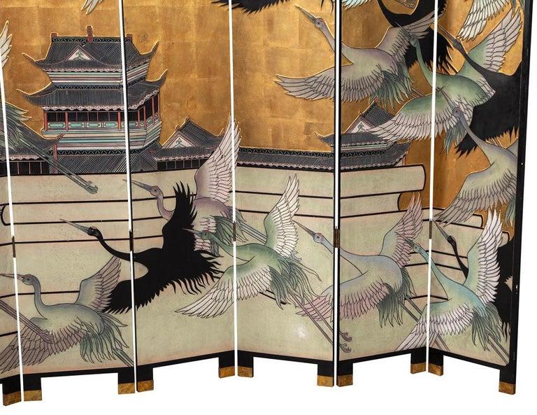 Vintage Japanese Screen Room Divider For Sale 1