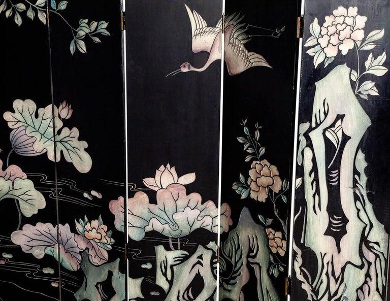 Vintage Japanese Screen Room Divider For Sale 3
