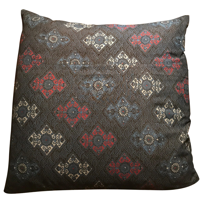 Vintage Japanese Silk Kimono Cushions