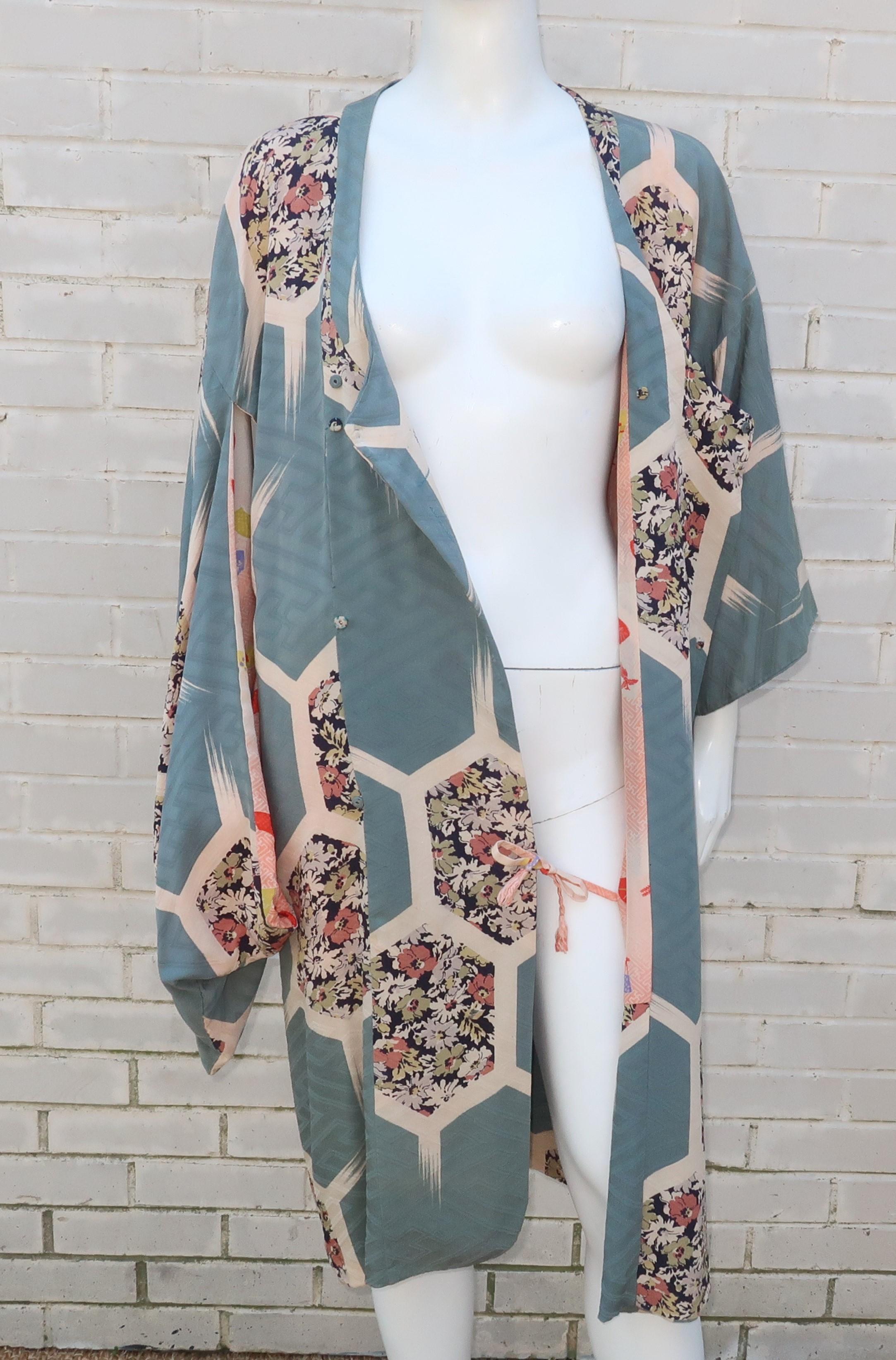 Nightwear Gown TOMESODE Dress Vintage Unused Japanese  KIMONO Dressing,Lingerie Black KIMONO,Free Shipping 37 Wedding Robe