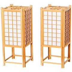 Vintage Japanese Washi Lanterns