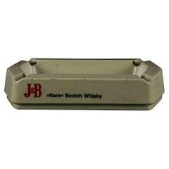 Vintage J&B Whisky Ashtray by Crippa Milano, Italy, 1960s