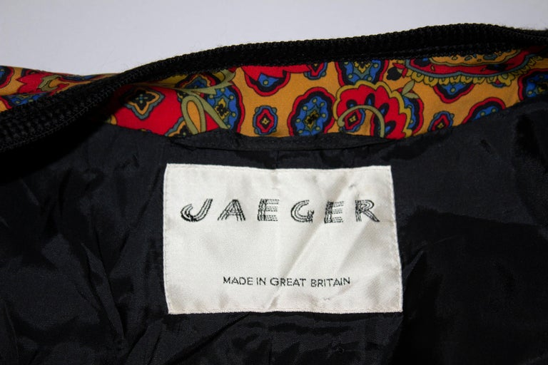 Women's Vintage Jeager Quilted Jacket For Sale