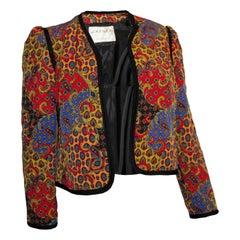 Vintage Jeager Quilted Jacket