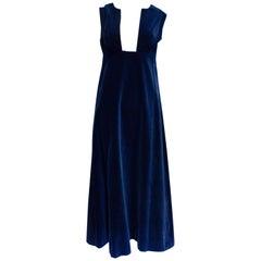 Vintage Jean Allen Velvet Dress