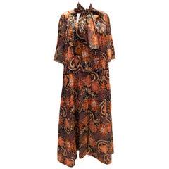 Vintage Jean Allen Vintage Dress and Marching Gilllet