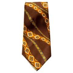 Vintage Jean Claude 100% silk particular tie