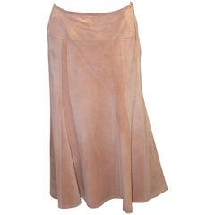 Vintage Jean Muir Suede Skirt