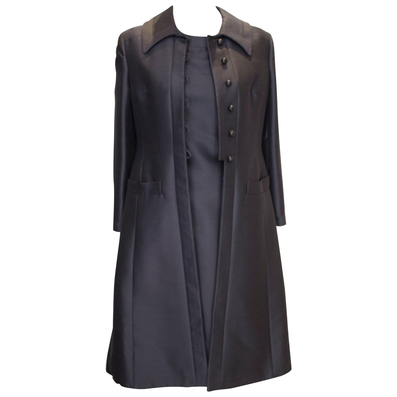 Vintage Jean Patou Paris London Coat and Dress