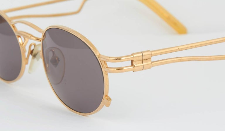 Vintage Jean Paul Gaultier 56-3173 Sunglasses In Excellent Condition For Sale In Chicago, IL