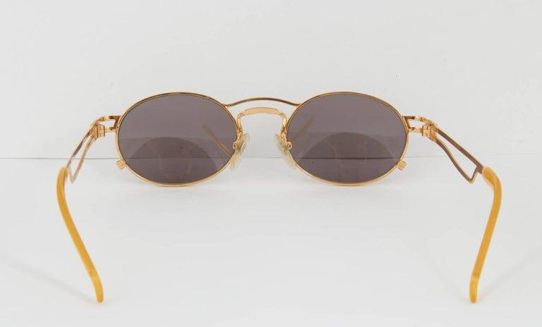 Vintage Jean Paul Gaultier 56-3173 Sunglasses For Sale 2
