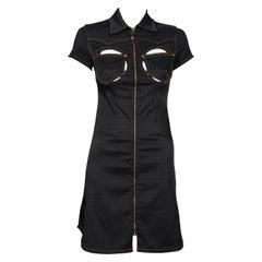 Vintage JEAN PAUL GAULTIER Cutout Bust Dress