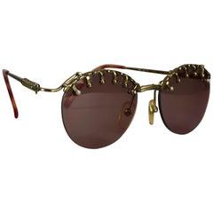 Vintage JEAN PAUL GAULTIER Steampunk Sunglasses