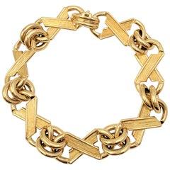 Vintage Jean Schlumberger for Tiffany & Co. X's & O's Bracelet