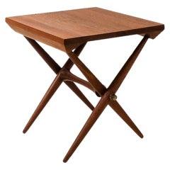 Vintage Jens Quistgaard Teak Side Table, 1960s