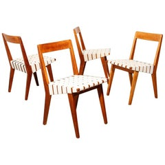 Vintage Jens Risom 'Model 666' Dining Chairs for Knoll