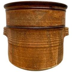 Vintage Jerry Meek Stoneware Vessel