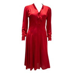 Vintage Jerseymasters Red Dress