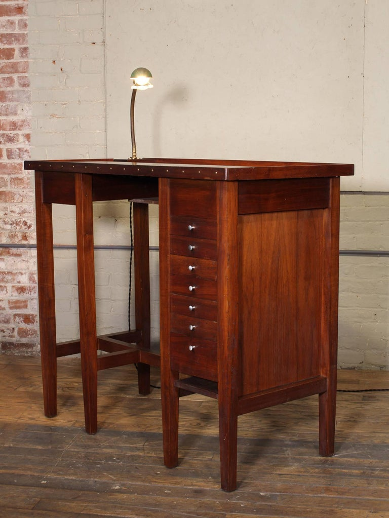 Vintage Jewelers Workbench Table And Desk Lamp With Quot Lek