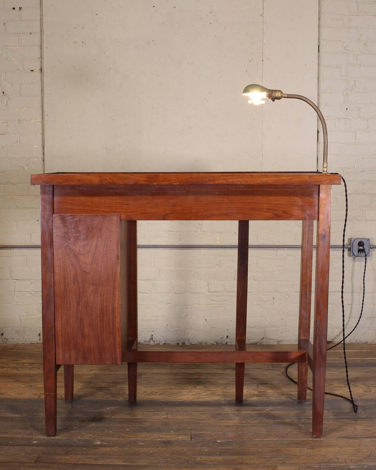 "Workbench Lights Vintage: Vintage Jewelers Workbench Table And Desk Lamp With ""Lek"