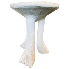 Vintage John Dickinson Plaster 'Africa' Table, circa 1970s