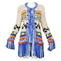 Vintage John Galliano 2002 Multicolor Sweater
