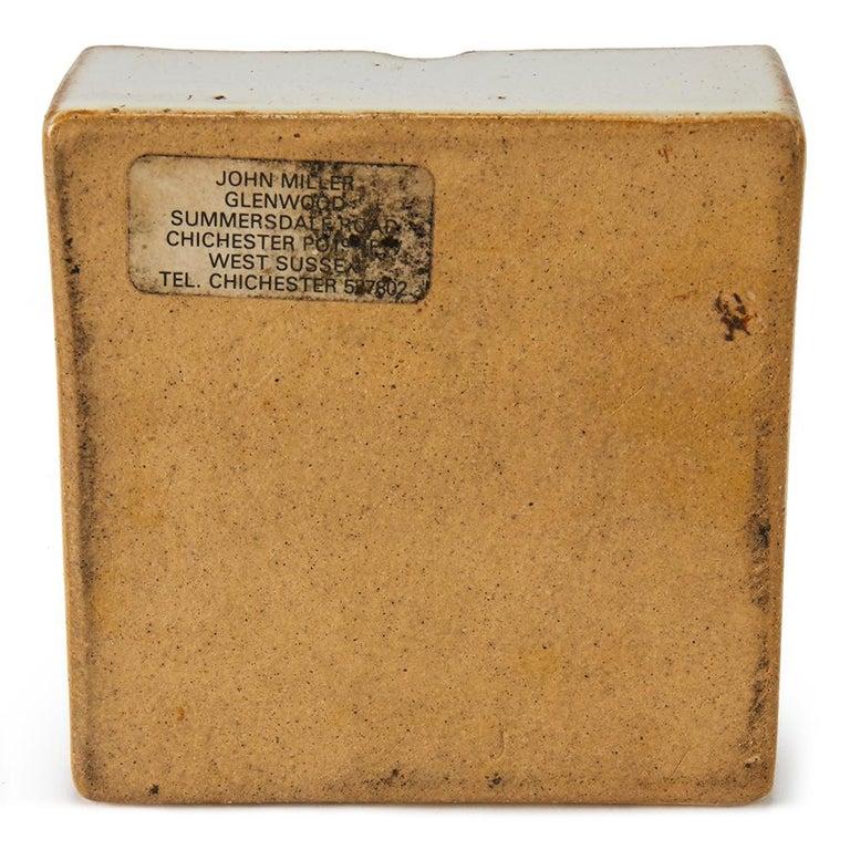 Vintage John Miller Studio Pottery Box, 20th Century For Sale 1