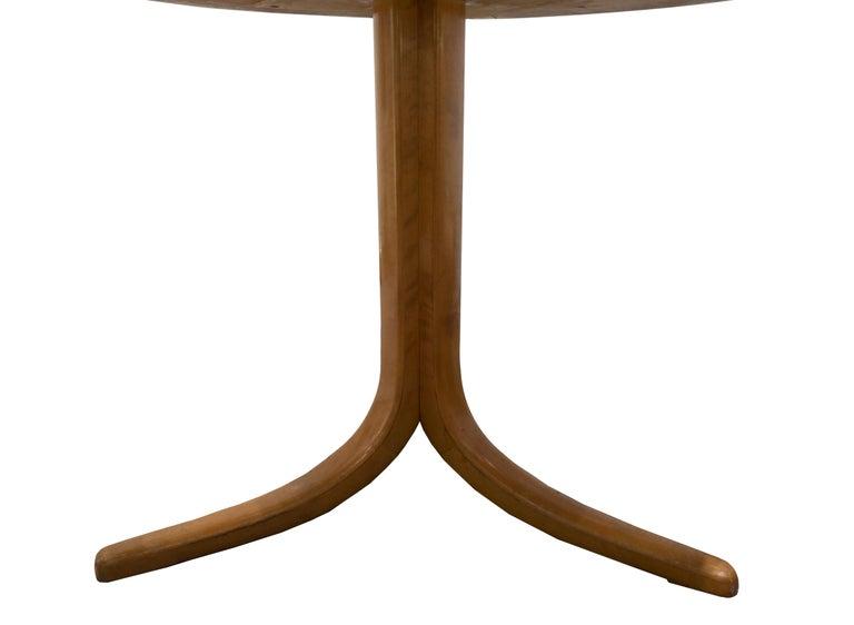 Swedish Vintage Josef Frank Burl Wood Table, Sweden, circa 1950s For Sale
